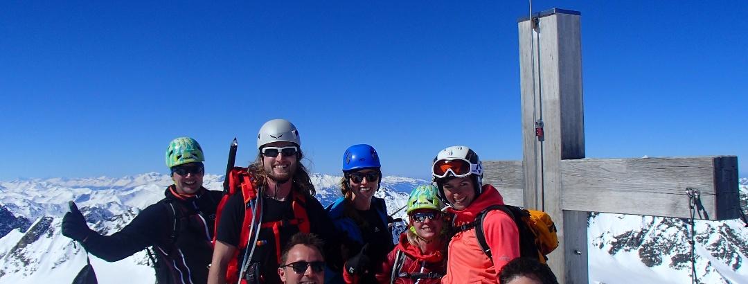 Tag2, Gipfelglück am Piz Buin