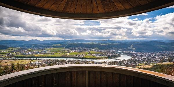 Totenbühlhütte Ausblick