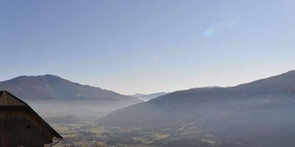 Blick vom Maltaberg übers Tal