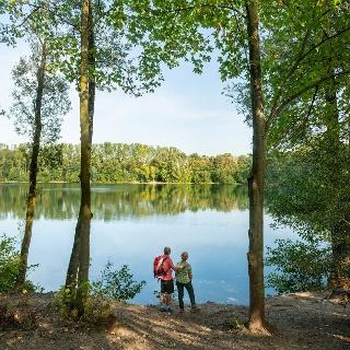 Auf dem neanderland STEIG am Menzelsee