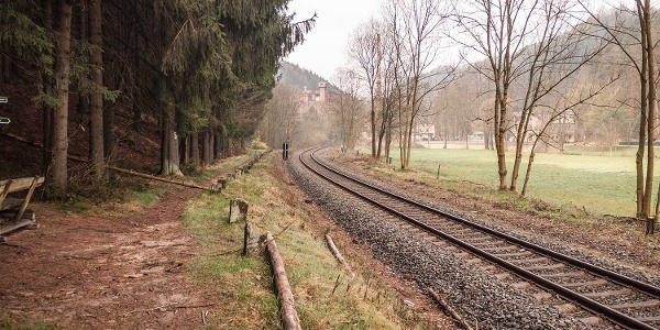 """""""Semmeringbahn"""" im Sebnitztal"""