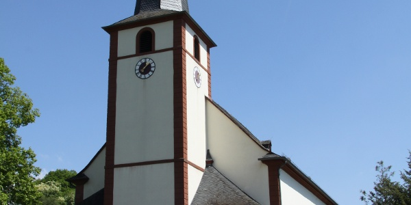The Baroque church of St. Martin in Dreis