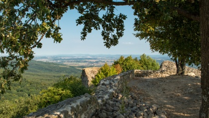 Drégely vára őrködik Nyugat-Nógrád felett