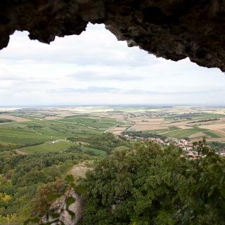 Aussicht von Burgruine