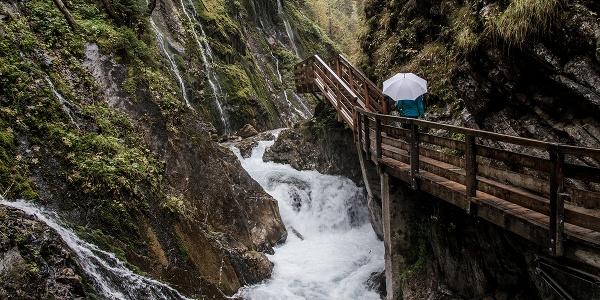 Erlebnis Wimbachklamm im Nationalpark Berchtesgaden