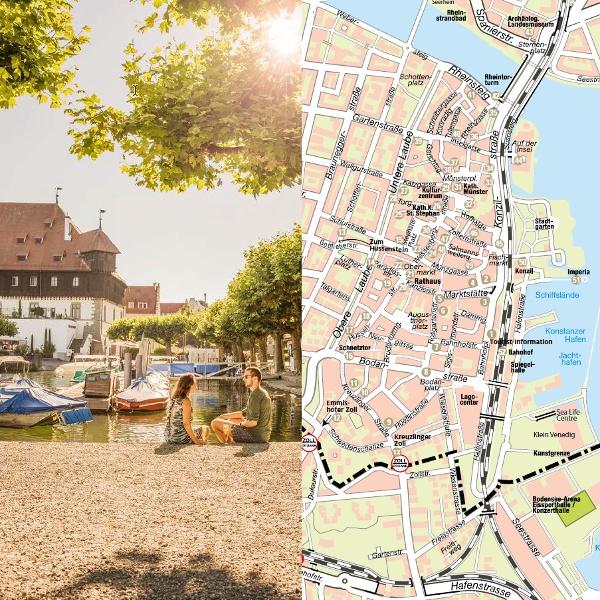 Stadtplanübersicht