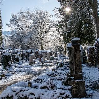 <![CDATA[Winter am Alten Friedhof berchtesgaden]]>
