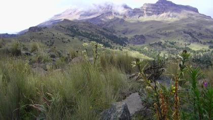 Landschaftsperspektiven am Iztaccihuatl