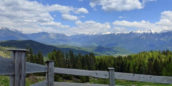 Mountains around Fiemme Valley
