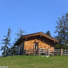 Schöne Jagdhütte