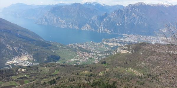 B - Lago di Garda vom Monte Creino