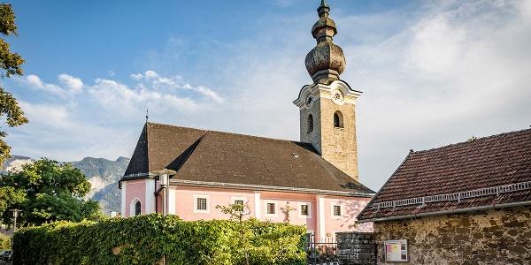 Kirche St. Valentin Marzolll   Alpenstadt Bad Reichenhall