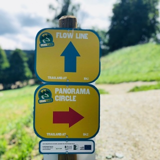 Wegweiser Trail Land Miesenbach