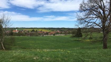 Bayerische Voralpenidylle (Blick auf Habach von Süden)