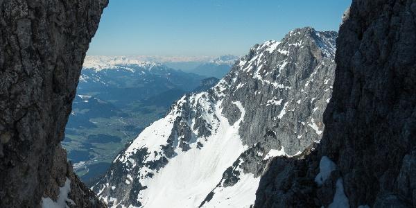 Blick vom Goinger Törl nach Süden
