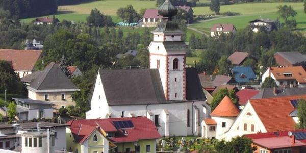 Reichenfels - Blick auf den Ort