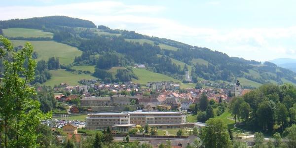 Bad St. Leonhard - Blick auf die Stadt