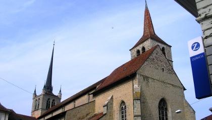 Payerne: Ref. Kirche und Abteikirche