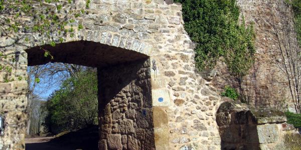 Tor zur Moschellandsburg