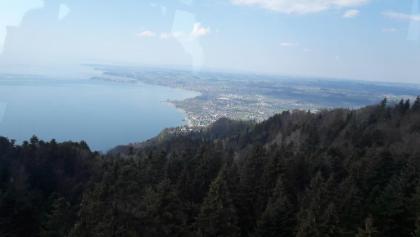 Endlich: Blick auf den See