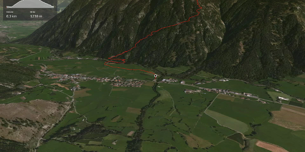 Bergtour im Vinschgau: Taufers - Piz Chavalatsch - Müstair