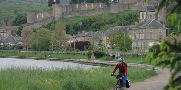 Mosel-Radweg in Frankreich