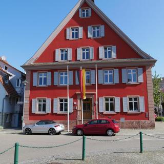 Start der Tour: Das Rathaus in Malterdingen