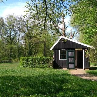 """Bienenhaus im Baumpark """"Arboretum Poort Bulten"""""""