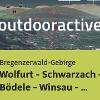 Trailrunning-Strecke im Bregenzerwald-Gebirge: Wolfurt - Schwarzach - Bödele ...