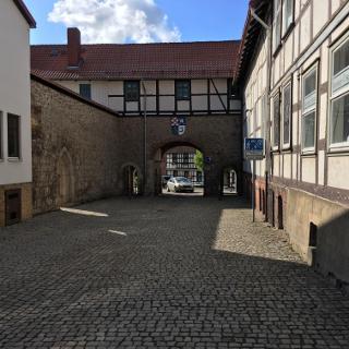 Tor am Klosterhotel Walkenried