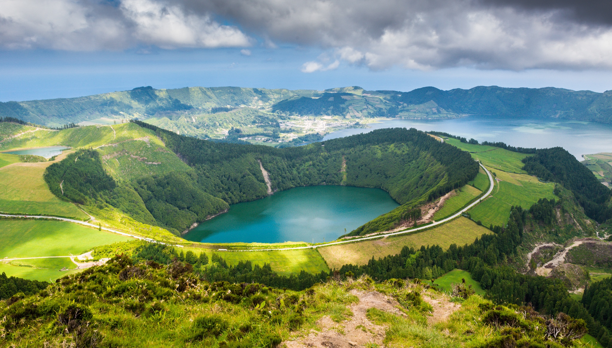 The Sete Cidades Crater Walk • Hiking Route » outdooractive.com
