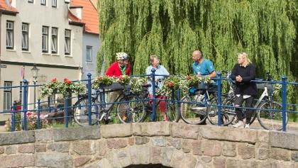 Friedrichstadt erinnert an die Amsterdamer Grachten