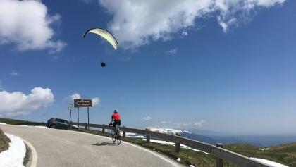 der Monte Grappa ist auch ein Eldorado für Paragleiter