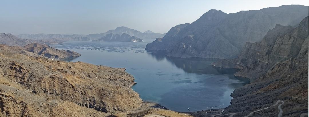 See in der Region Musandam