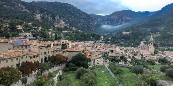 Overview of Valldemossa