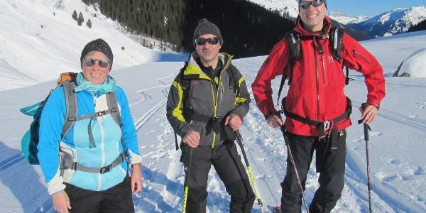 Biggi, Dragan und Martin