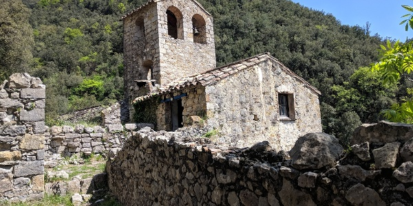 The remains of Santa Maria d'Escales