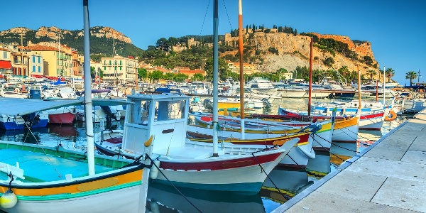 Hafen von Cassis