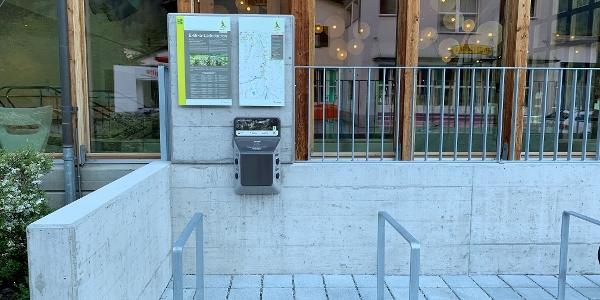 E-Bike-Ladestation Andeer