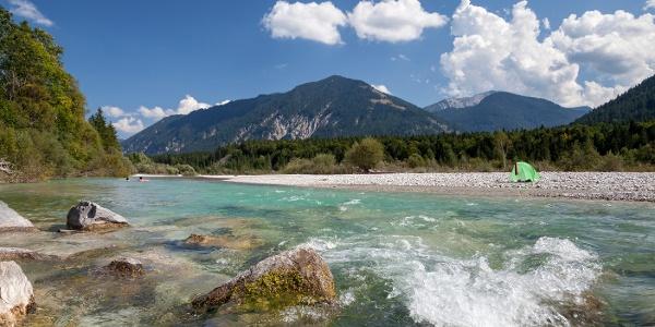 """Der Wildfluss """"Isar"""""""