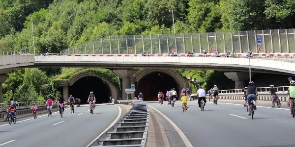 Siegtal pur - am Ziegenbergtunnel in Siegen