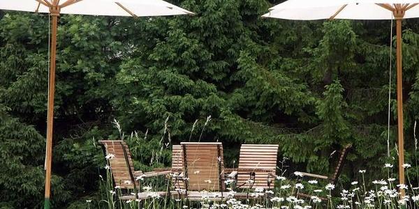 Rosentaler Hof, Naturgarten im Hotel