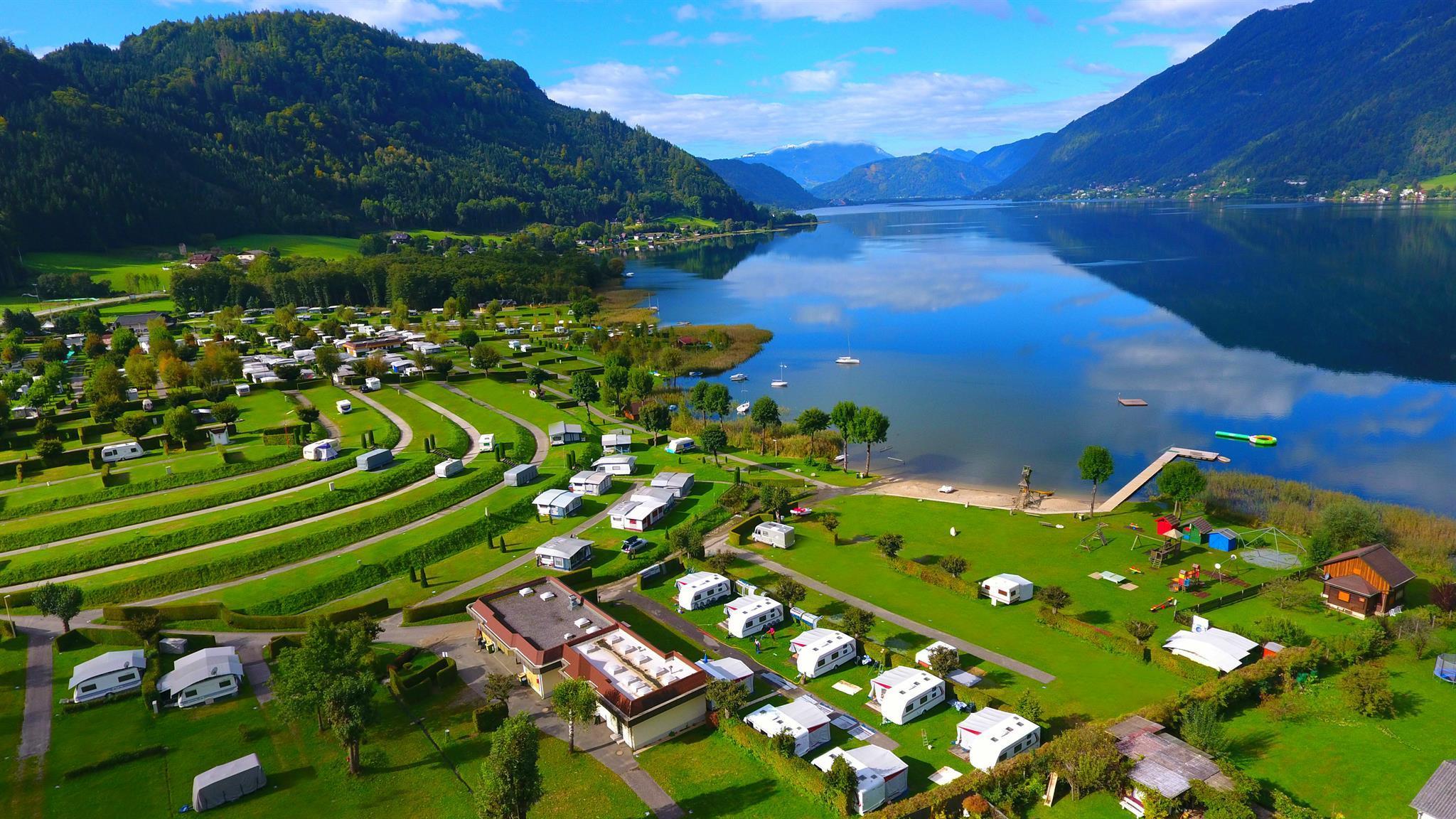 Terrassen Camping Ossiacher See • Ferienhaus