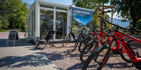 E-Bike-Station Bad Ragaz
