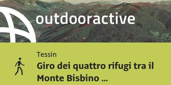 Giro dei quattro rifugi tra il Monte Bisbino e il Sasso Gordona – EMTB