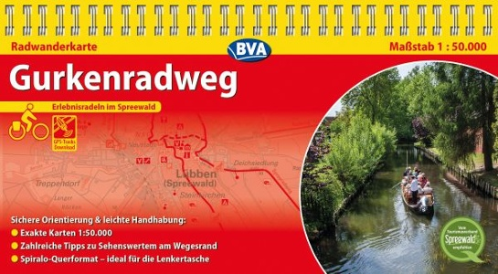 Gurken-Radweg im Spreewald