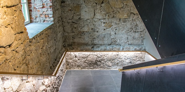 <![CDATA[Alte Mauern als Gestaltungselement im Magazin 3]]>