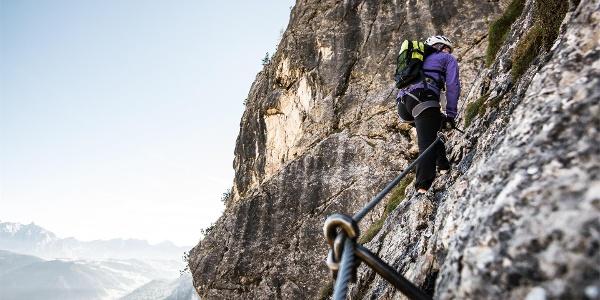 Tridentina Klettersteig