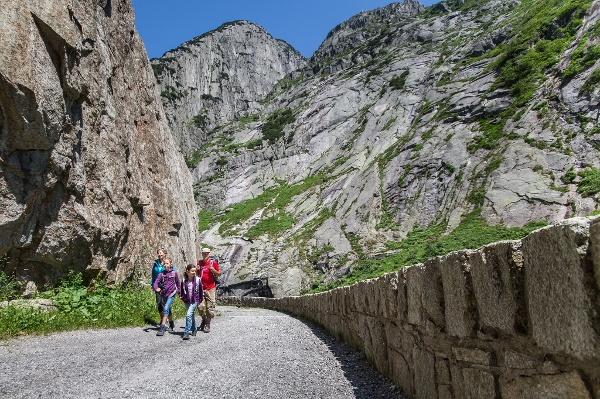 Wanderweg Schöllenen