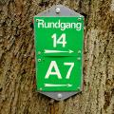 Markierung Wanderweg Nr.14